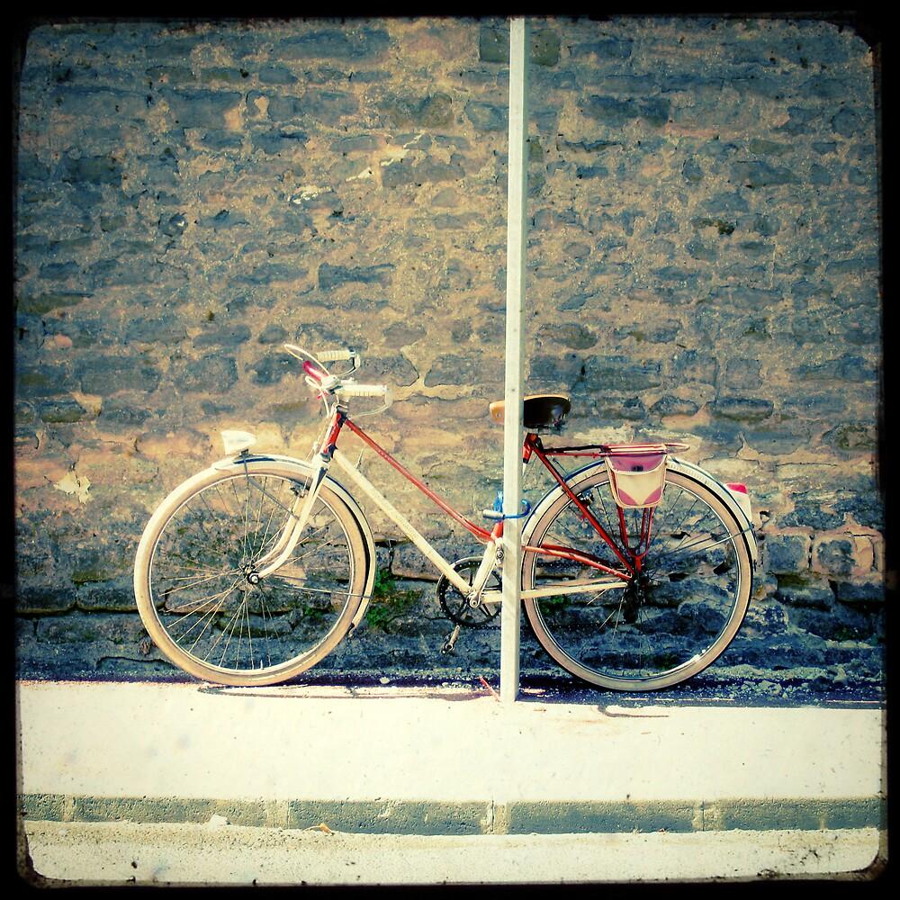 La Bicyclette Rouge by Marc Loret