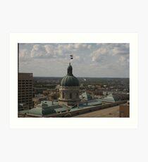 The Statehouse Art Print