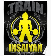 Train Insane - Deadlift Poster
