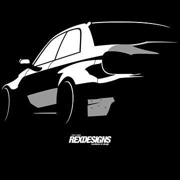 Widebody Impreza Silhouette by RexDesigns