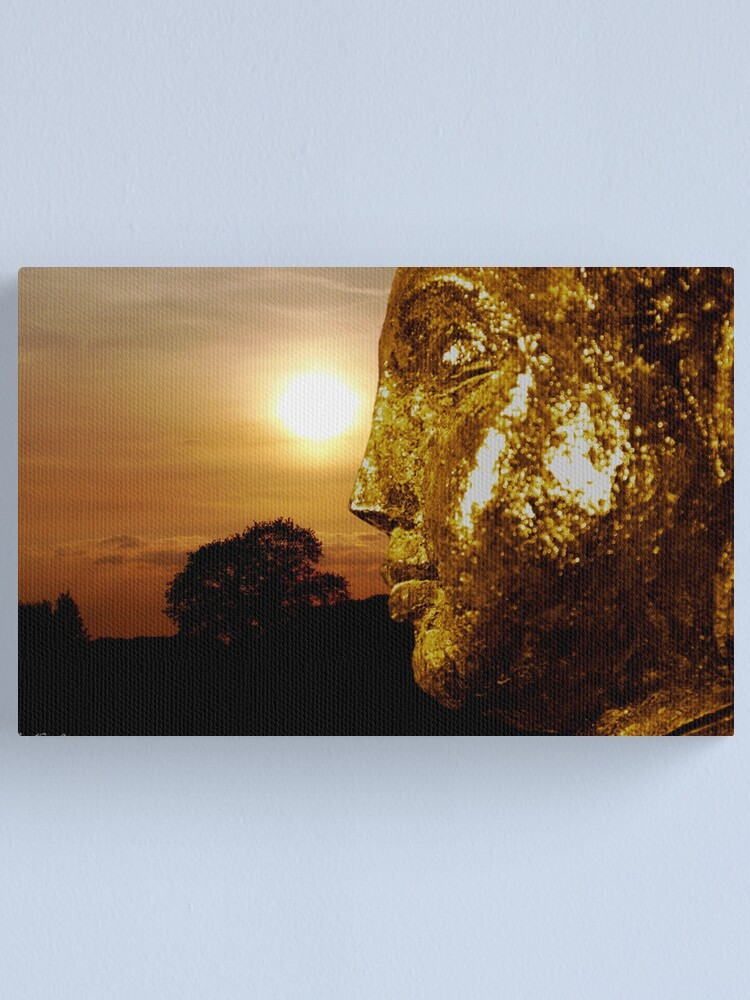 Alternate view of Meditation Canvas Print