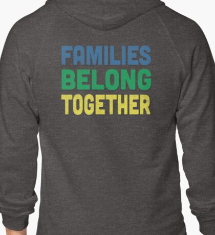 Immigrant Families Being Together! Signs and Apparel T-Shirt