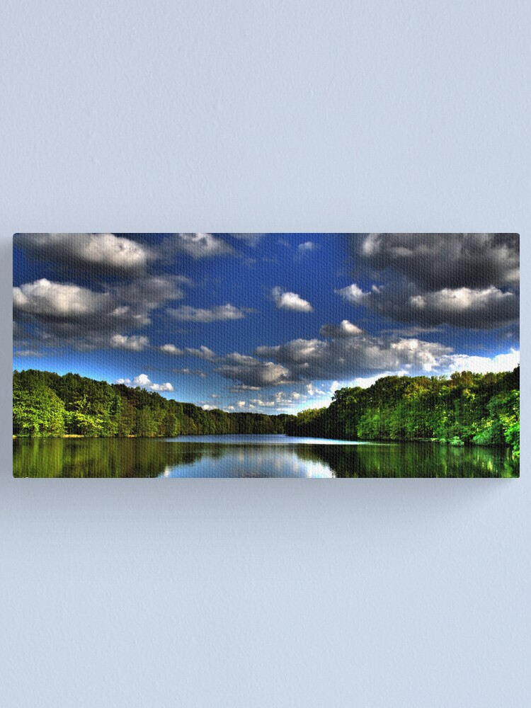 Alternate view of Lopausee Panorama Canvas Print