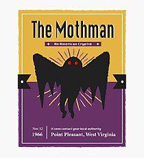 Mothman Poster Photographic Print
