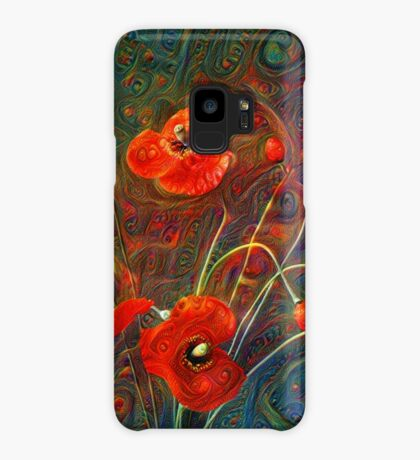 Poppies Case/Skin for Samsung Galaxy