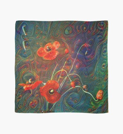 Poppies Scarf