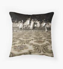 crystalline as in a dream. Throw Pillow