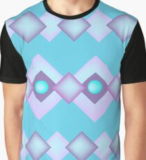 Retro Pattern Graphic T-Shirt