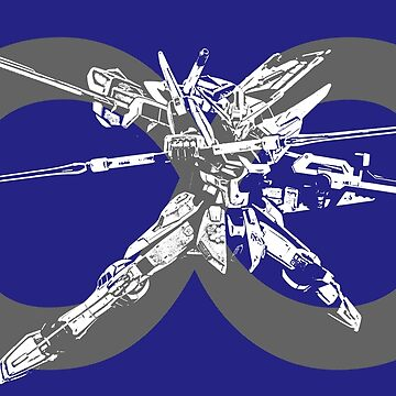 Infinite Justice Gundam #3 - Grey - Gundam SEED Destiny by saintism