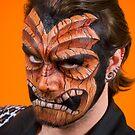 Tiki face by Scott White