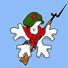 Proud Leftist Snowflake by RnBSalamander