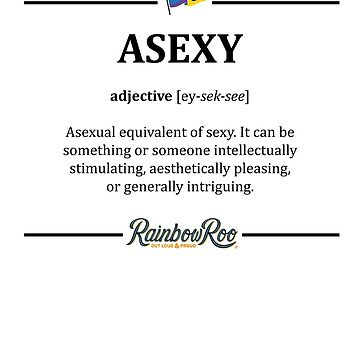 LGBT Asexual Dictionary Asexy Pride by TheRainbowRoo