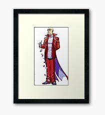 Calender Man - Arkham Asylum Character Bio Framed Print