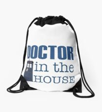 Doctor in the House Drawstring Bag