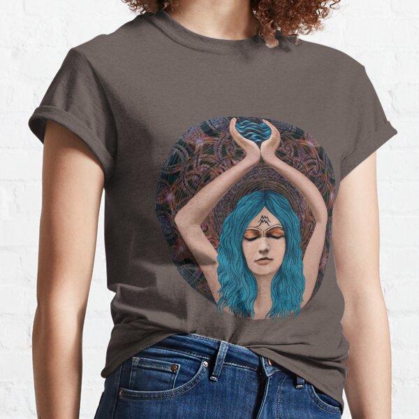 Aquarian mandala Classic T-Shirt