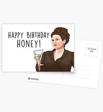 HAPPY BIRTHDAY HONEY! Postcards