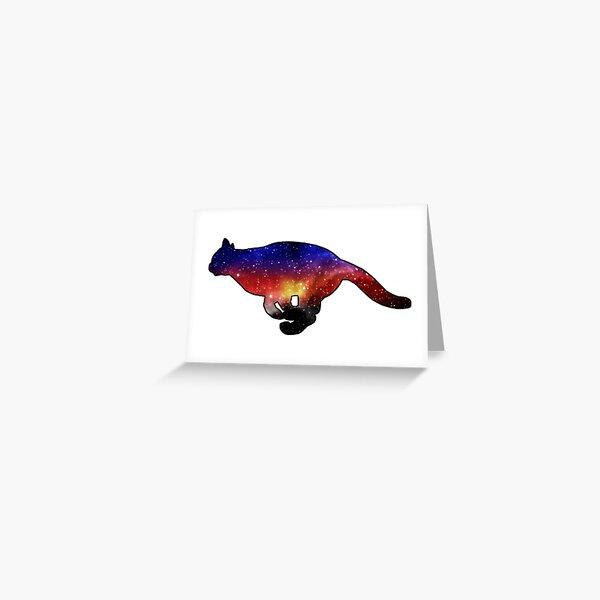polyamorous space pride flag Greeting Card