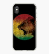 rasta lion iPhone-Hülle & Cover