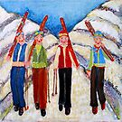 Great Day On The Mountain by Linda  Sharpe