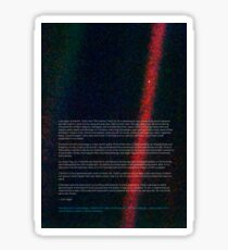 Pale Blue Dot - Voyager 1 ⛔ HQ quality Sticker