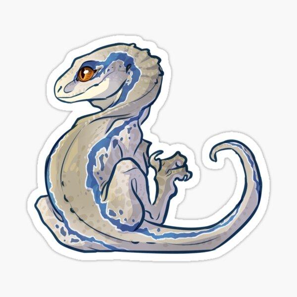 Baby Blue Sticker Sticker