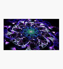 Electrical flower Photographic Print