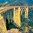Bixby Bridge (Yellow Theme) by Joe Lach