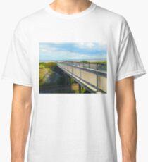 """Bridge to Beauty"", Photo / Digital Painting Classic T-Shirt"