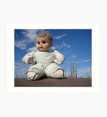 Catavina doll Art Print
