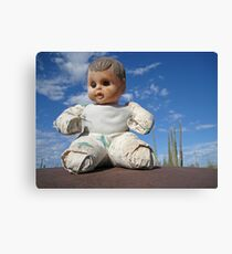 Catavina doll Canvas Print