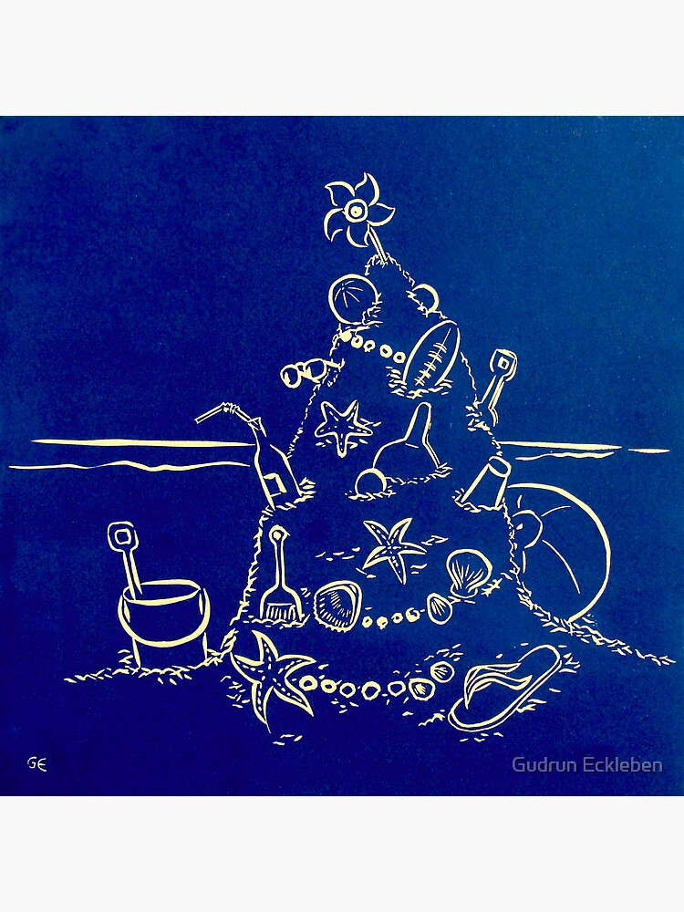 Australian Christmas in Blue by gudders