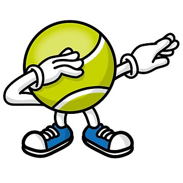 Dab dabbing tennis ball by LaundryFactory