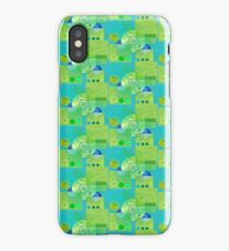 Tractor Trucks and Wheels iPhone Case