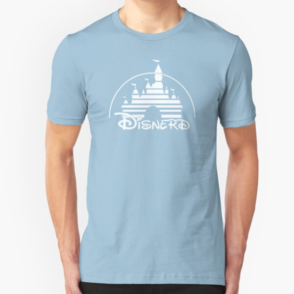 Disnerd - White Slim Fit T-Shirt