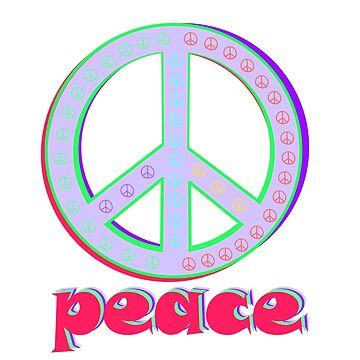 Peace sign by colorkitchy