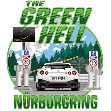 Nurburgring Nissan GTR R35 Edition by 8800ag