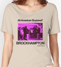 Brockhampton All-American Boyband Women's Relaxed Fit T-Shirt