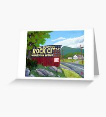 See Rock City Greeting Card