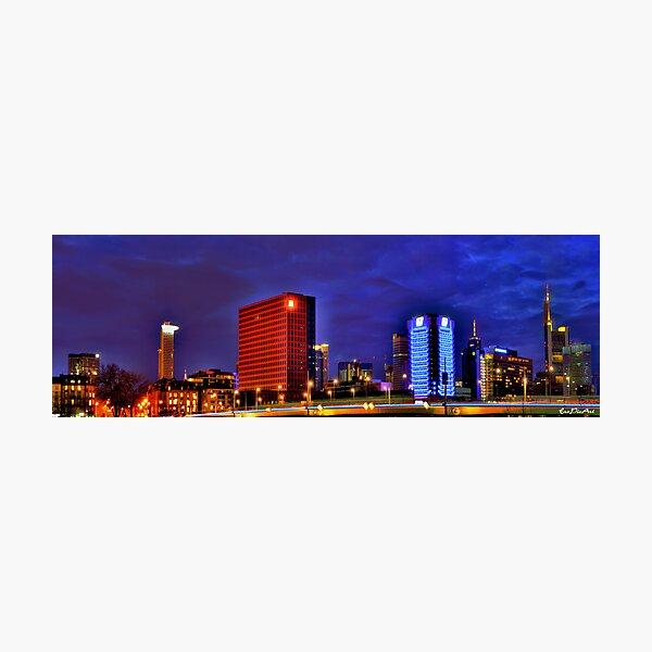 Frankfurt Panorama Photographic Print