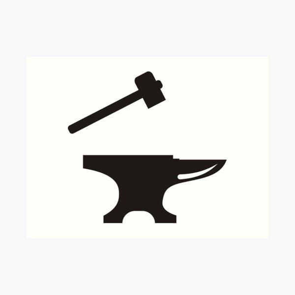 Anvil Blacksmith Hammer Clip Art - Blacksmith Clipart , Free Transparent  Clipart - ClipartKey