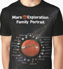 Mars Exploration Graphic T-Shirt