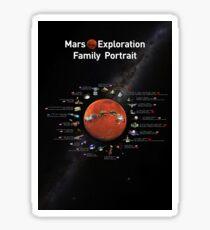Mars Exploration ⛔ HQ quality Sticker