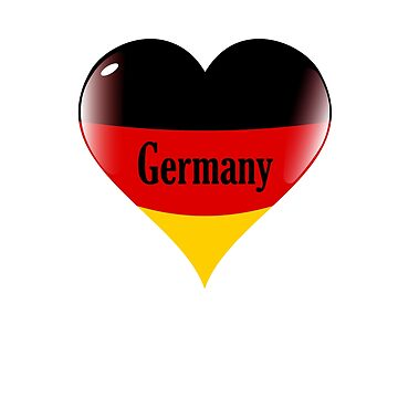 Team Germany - Flag Love by BrchtV