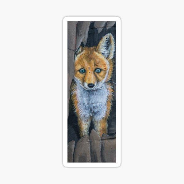 Little Foxy Sticker