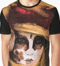 Carnevale - Gold Graphic T-Shirt