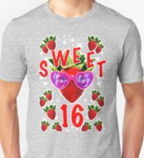 Sweet 16 birthday gift Unisex T-Shirt