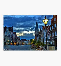 Lüneburg in the Morning Photographic Print