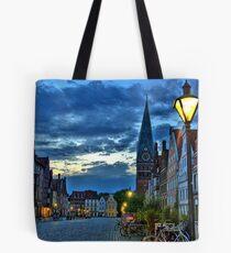 Lüneburg in the Morning Tote Bag