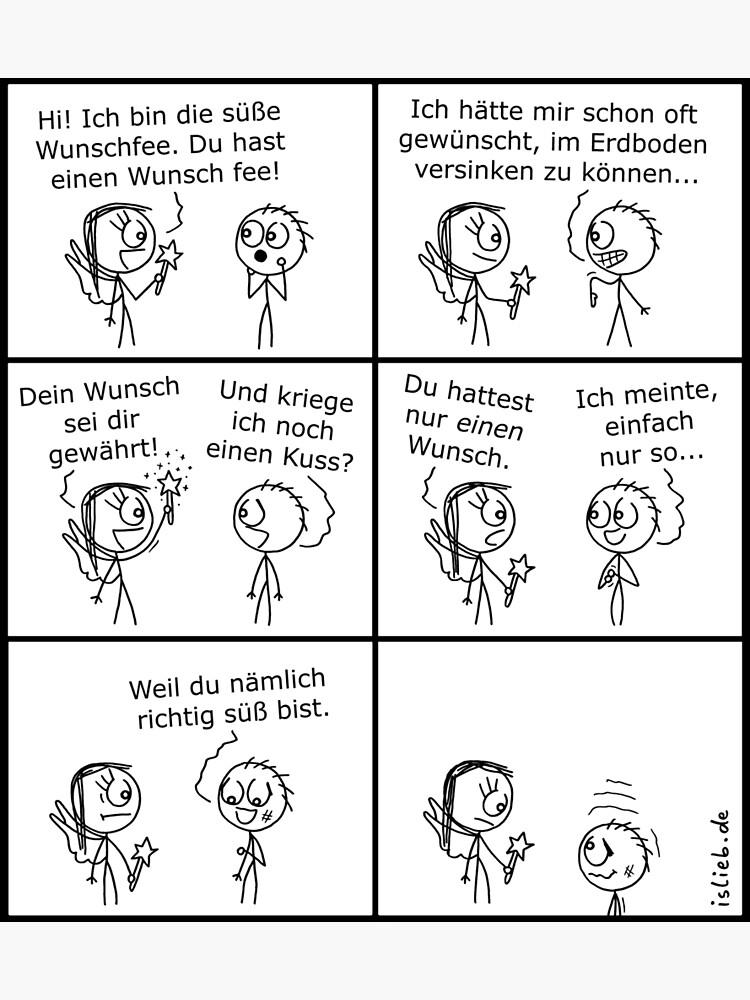 Suesse Wunschfee islieb-Comic von islieb