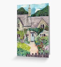 Cotwolds Cottage Garden Greeting Card